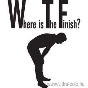 WTF? – Where is The Finish? futópóló, fiú változat